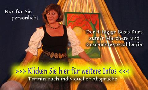 Märchenshop Märchenerzähler Ausbildung Solo